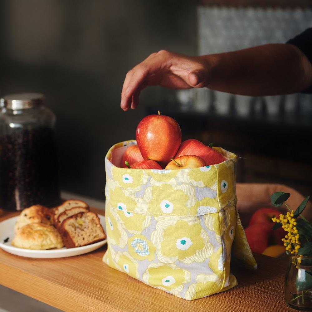 COSMICOS|台灣手工 環保食物背包袋 (黃花閨女)