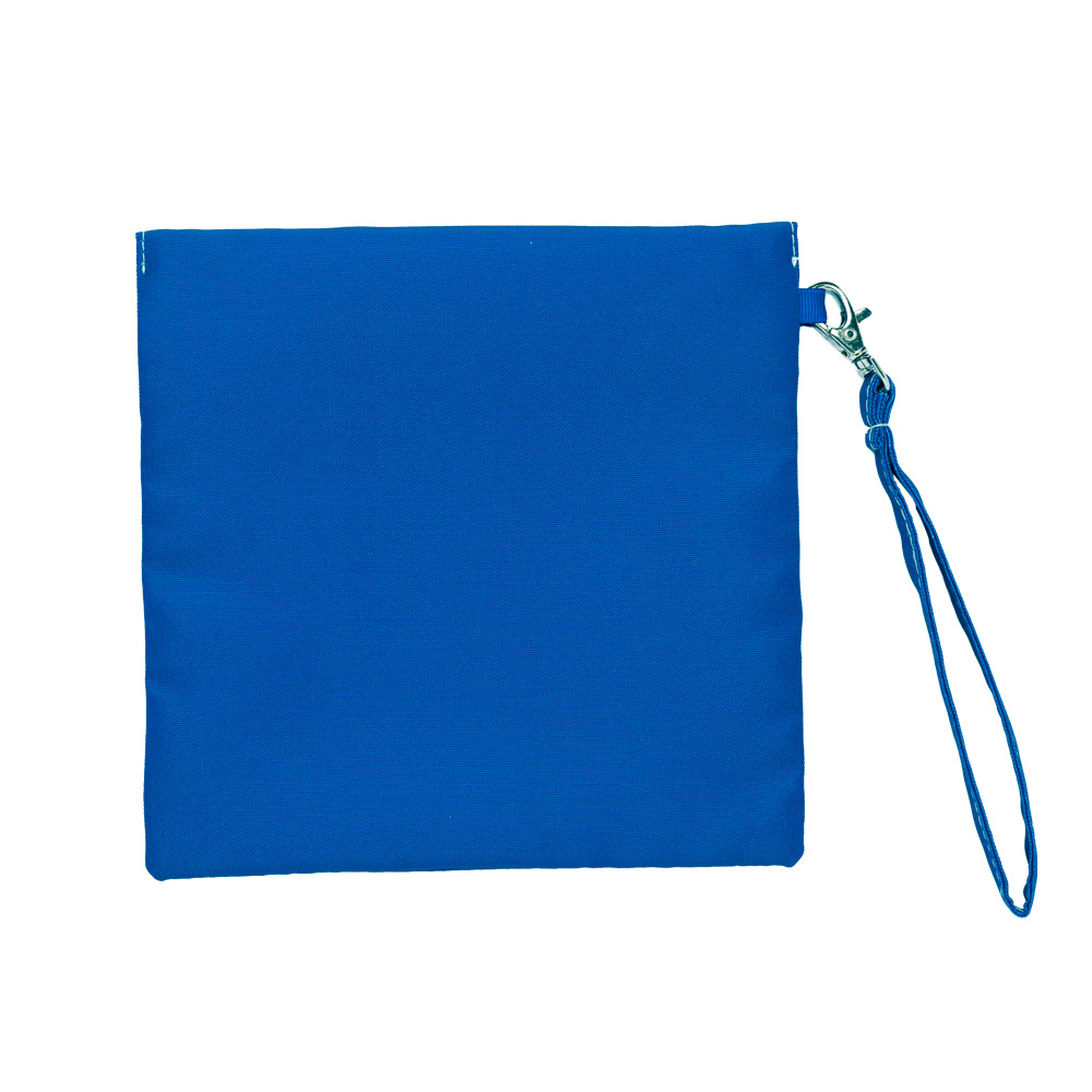 COSMICOS|深藍 摩洛哥聖羅蘭花園 輕食袋《小》
