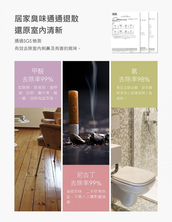 SERENE HOUSE|PURE純淨抗菌噴霧 100ml  三入組(純瑰謐)