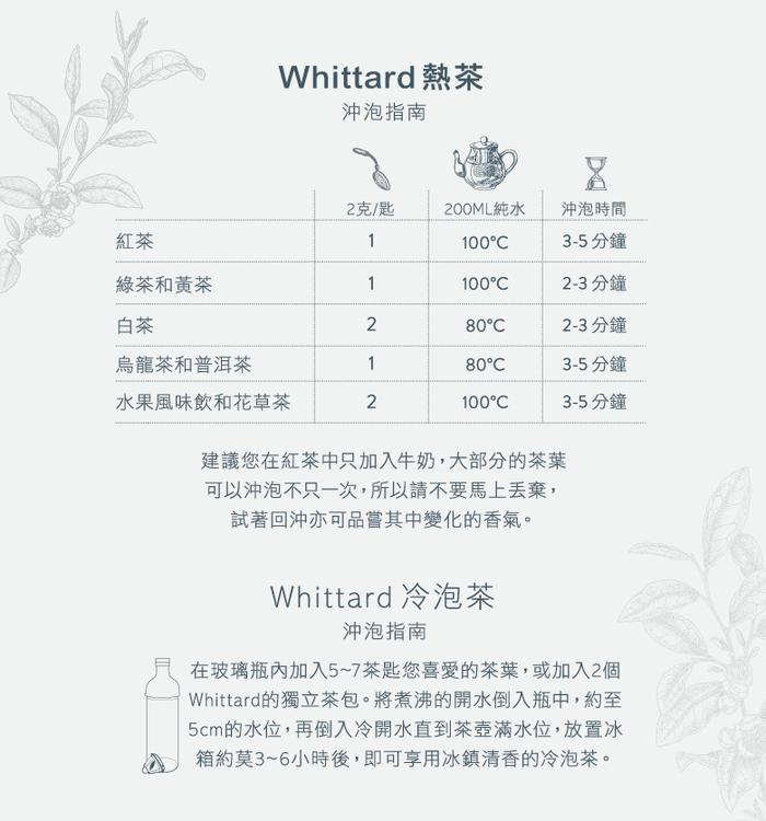 (複製)Whittard|接骨木伯爵茶 Elderflower Earl Grey NO.216