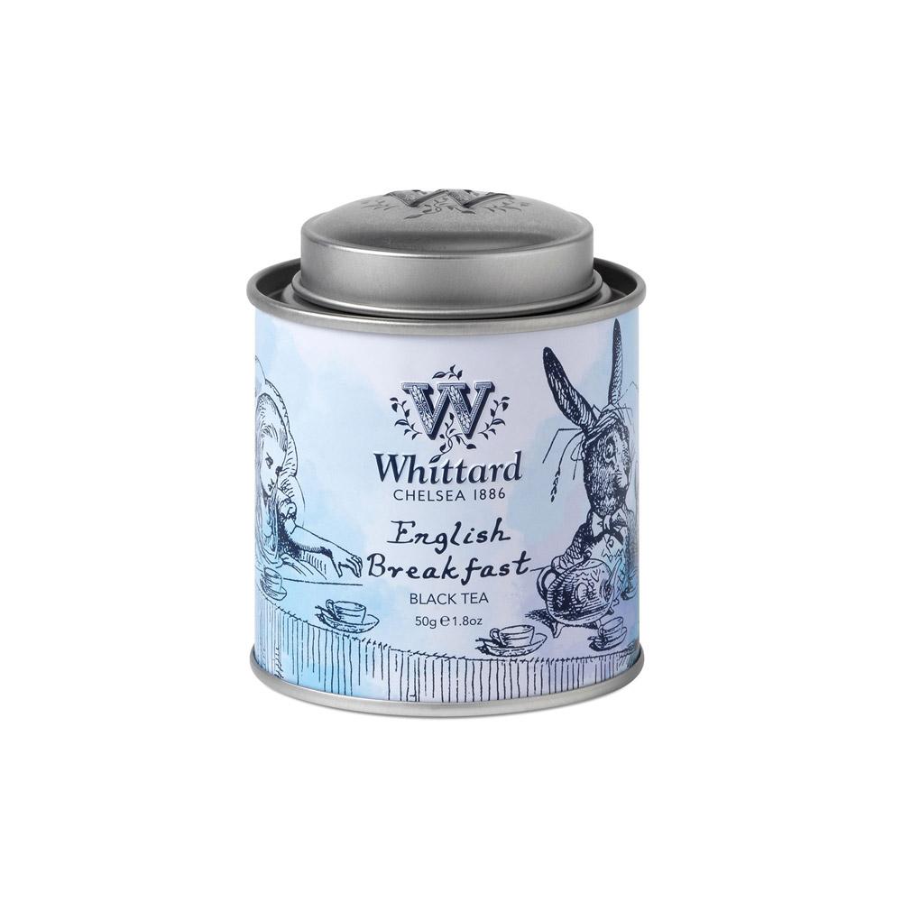 Whittard|英式早餐紅茶-愛麗絲迷你罐裝 English Breakfast  NO.1