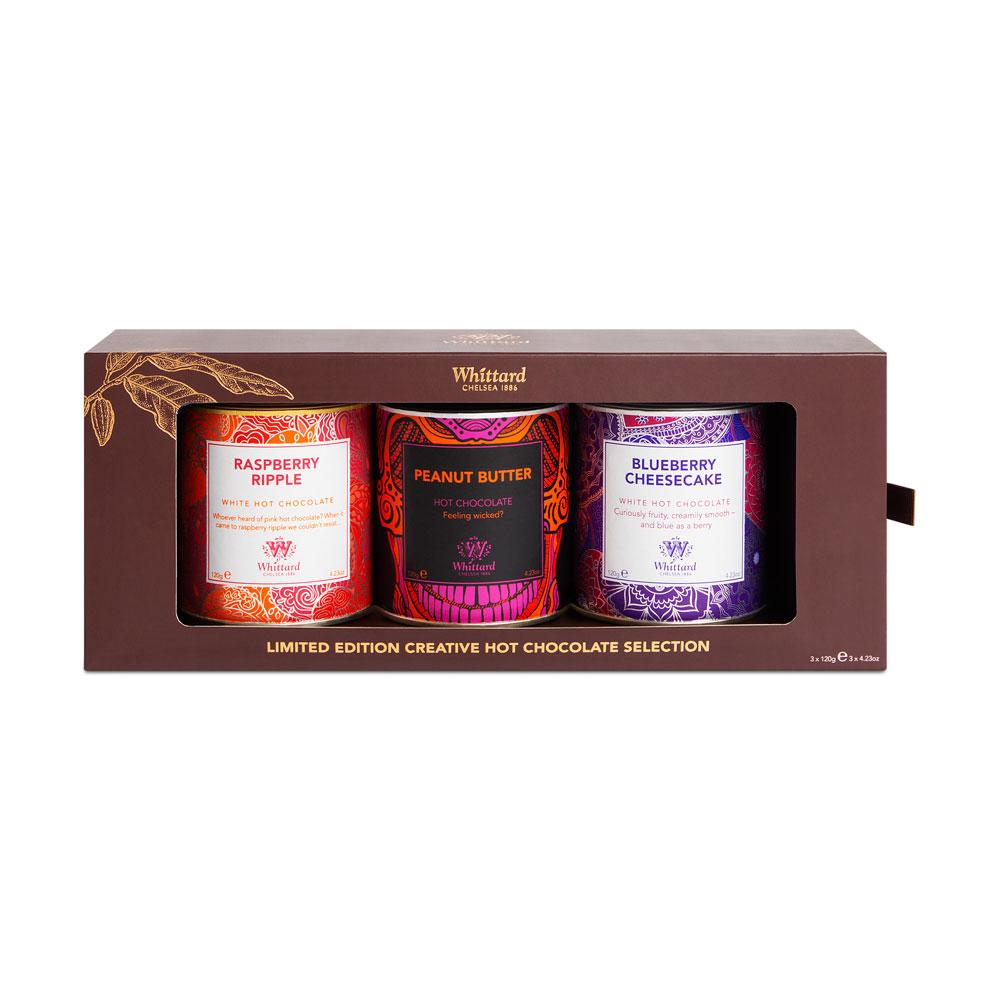Whittard   限量版風味巧克力粉禮盒