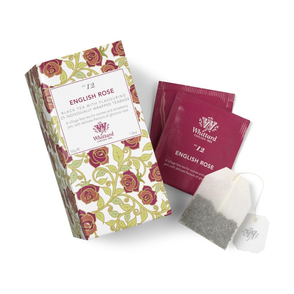 Whittard   英式玫瑰風味紅茶-25入茶包