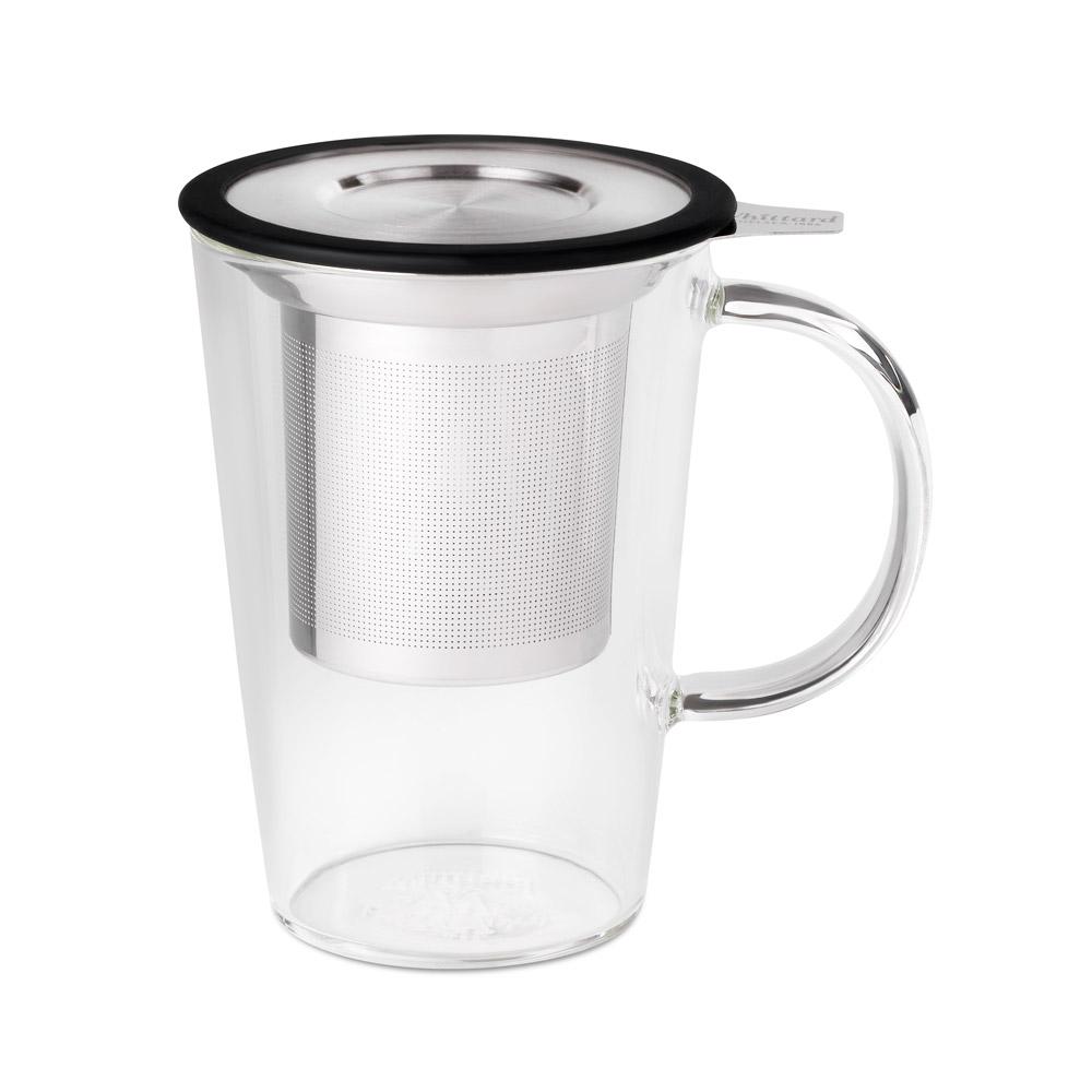 Whittard   PAO系列玻璃馬克杯-黑色