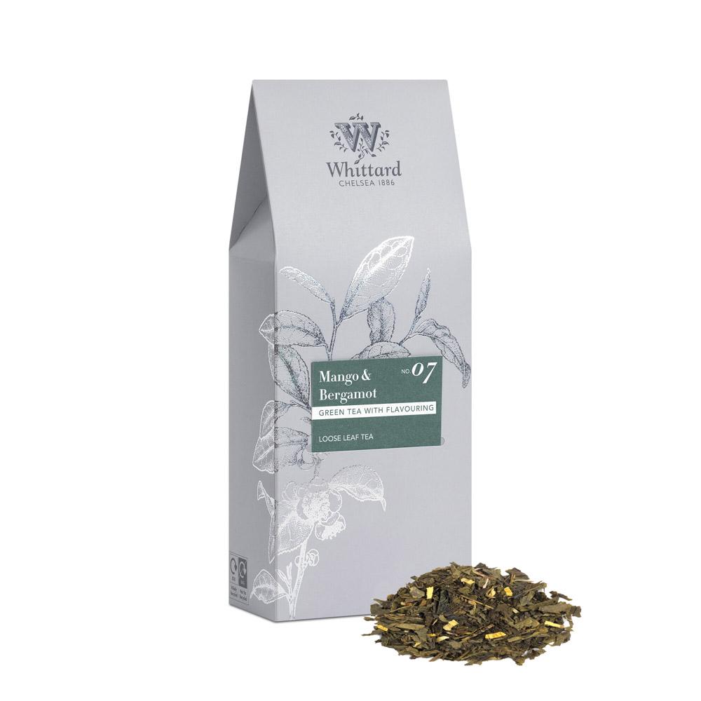 Whittard 芒果佛手柑綠茶盛宴-袋裝 Mango & Bergamot NO.7