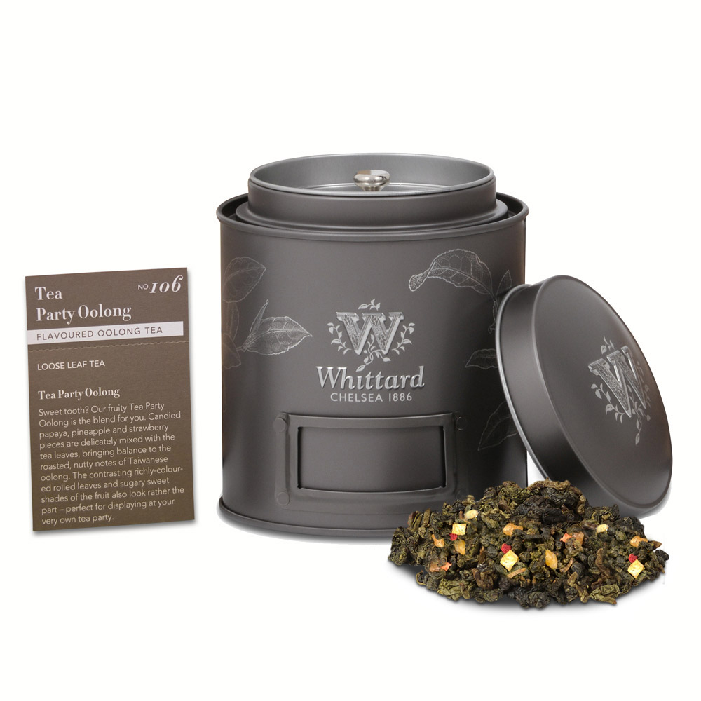 Whittard|熱帶水果烏龍茶 Tea Party Oolong NO.106-50g