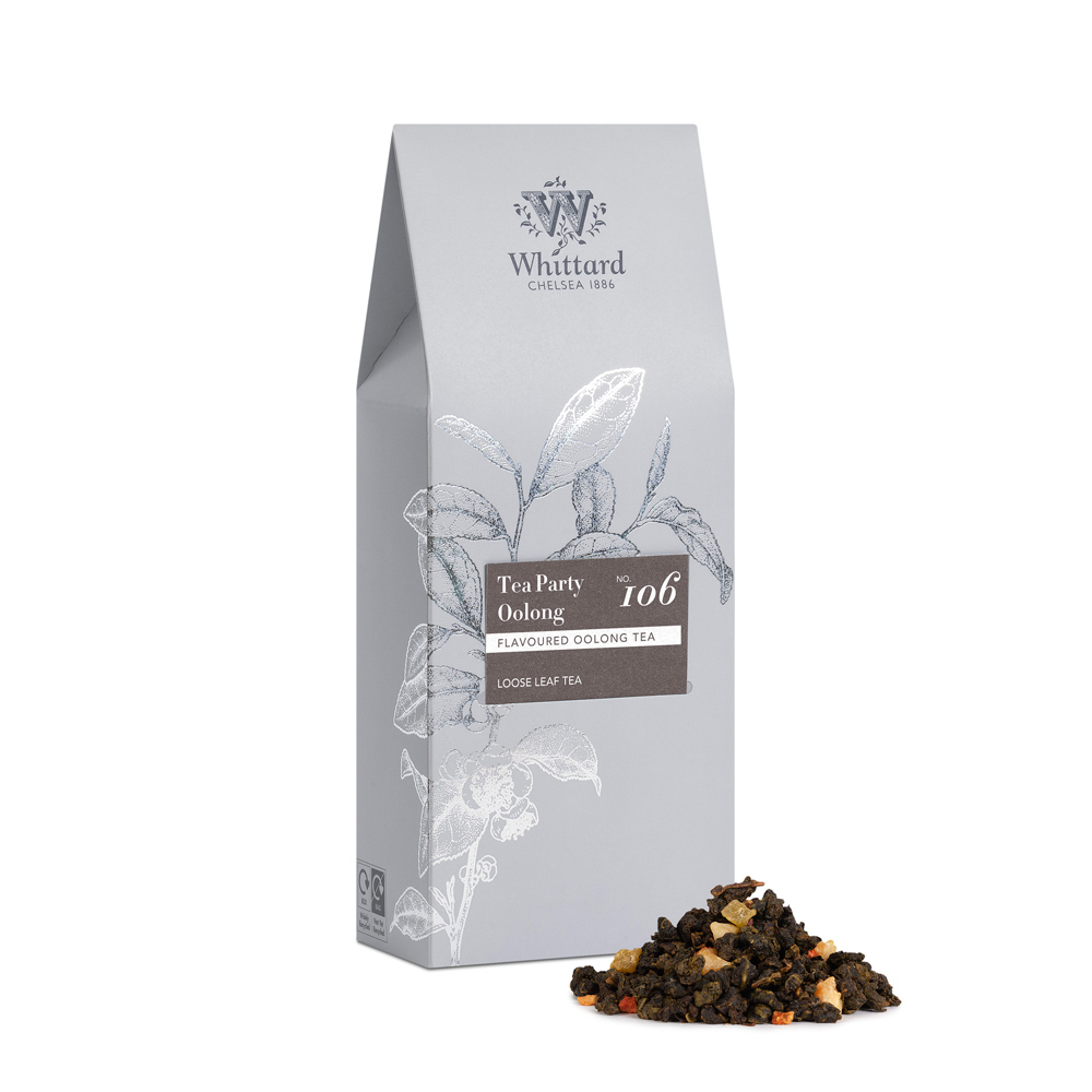 Whittard|熱帶水果烏龍茶-袋裝 Tea Party Oolong NO.106-50g