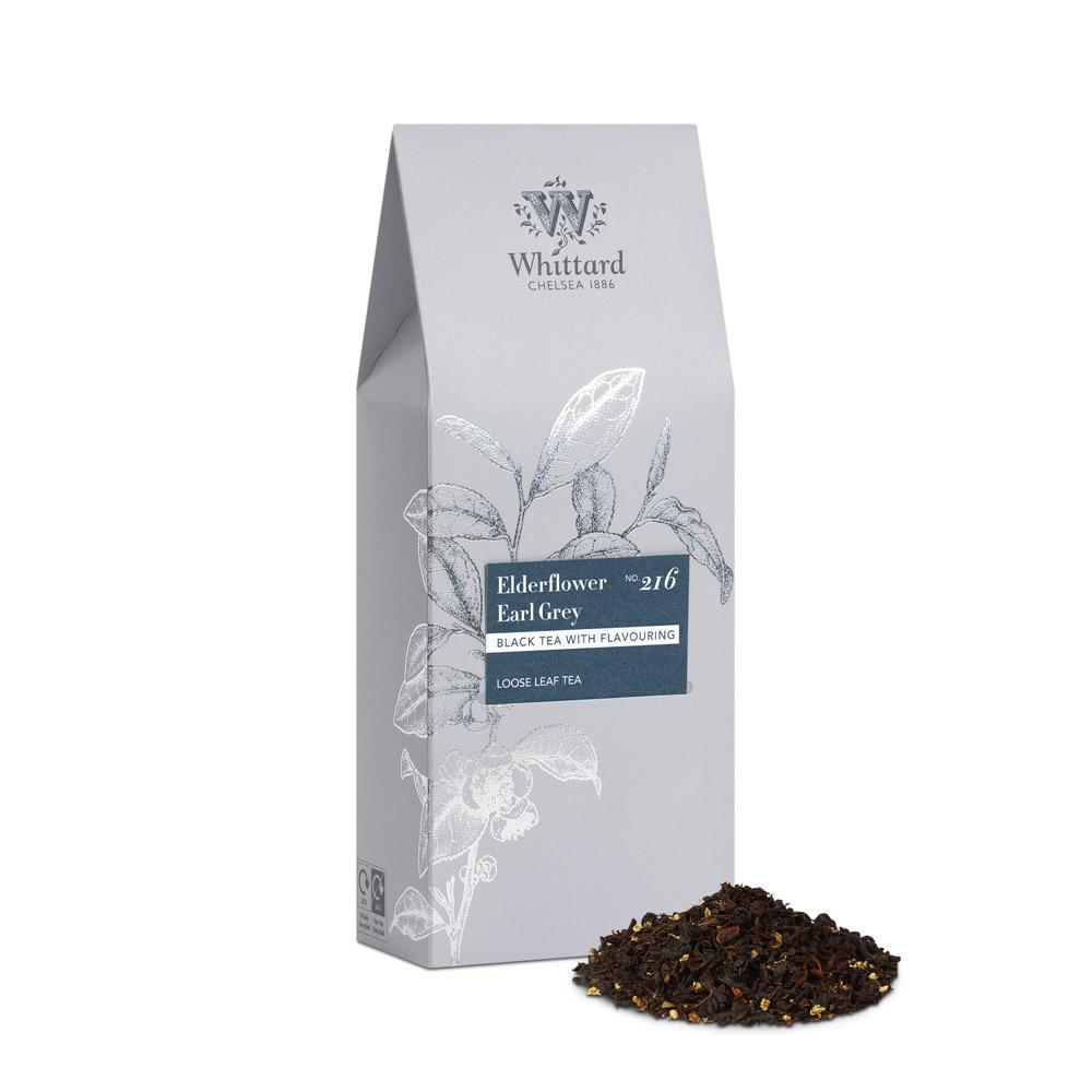 Whittard|接骨木伯爵茶-袋裝 Elderflower Earl Grey NO.216