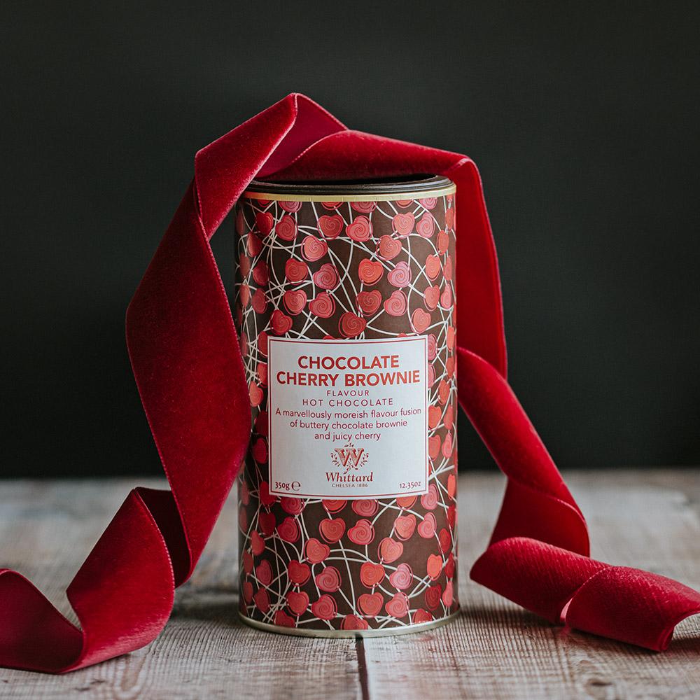 Whittard|期間限定 櫻桃布朗尼風味巧克力粉