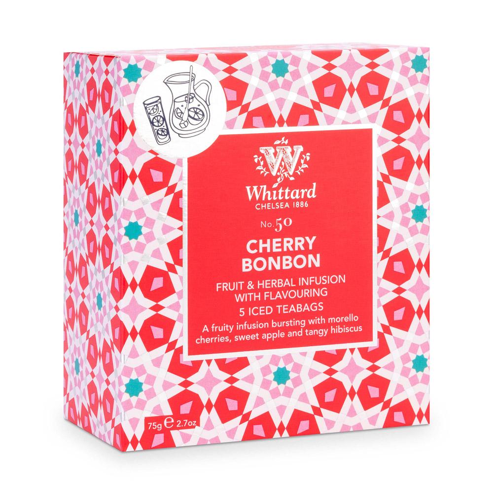 Whittard 櫻桃蹦蹦冰茶-5入茶包 Cherry BonBon NO.50