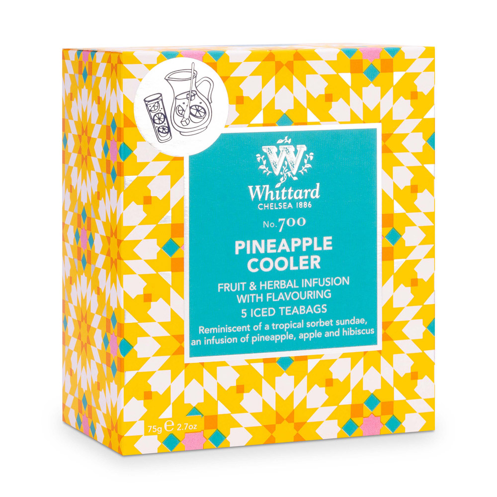 Whittard|沁涼鳳梨冰茶-5入茶包 Pineapple Cooler NO.700