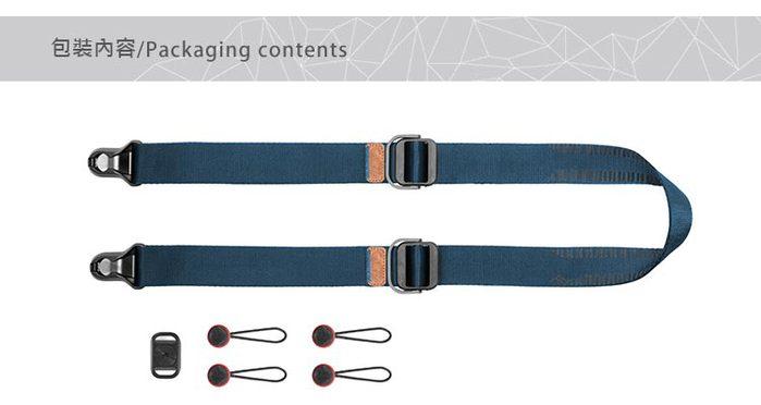 PEAK DESIGN|PEAK DESIGN 纖細版快裝神奇背帶 Slide Lite (午夜藍)