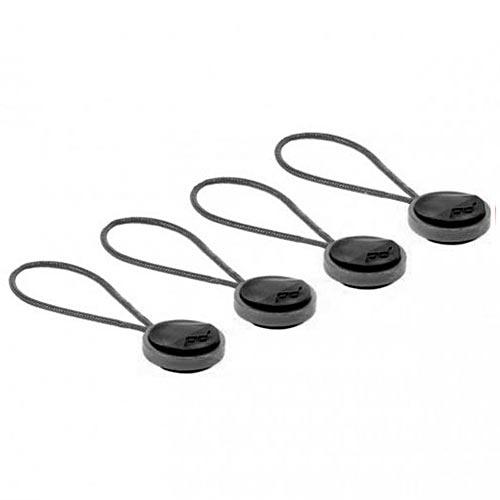 PEAK DESIGN|純黑版 背帶腕帶安全扣4入裝 (V4版)