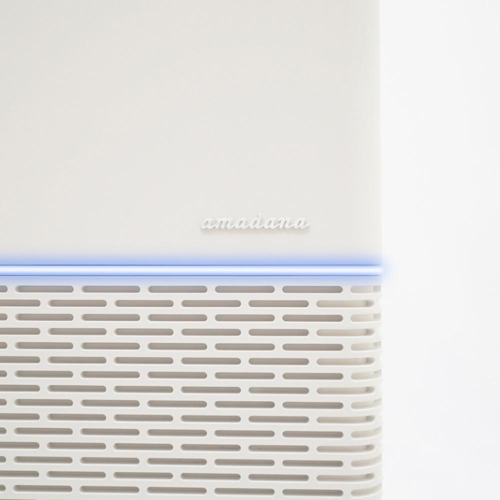 ONE amadana|薄型空氣清淨機 PA-301T(白色)