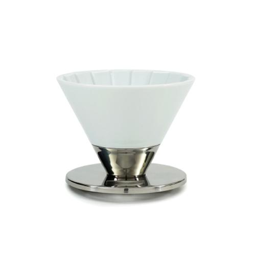 ONE amadana |Beasty coffee咖啡濾杯(光澤白)