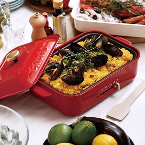 BRUNO BOE021 多功能電烤盤(紅色)