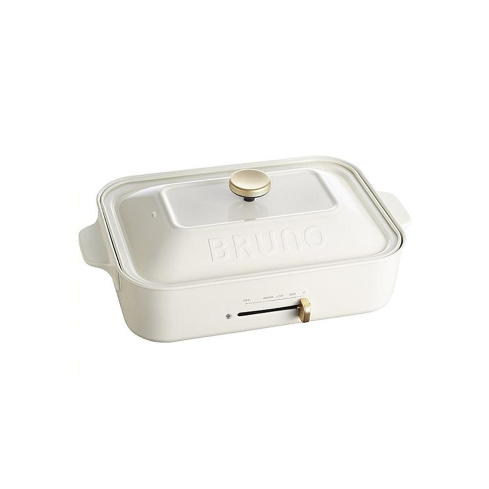 BRUNO|BOE021 多功能電烤盤(白色)