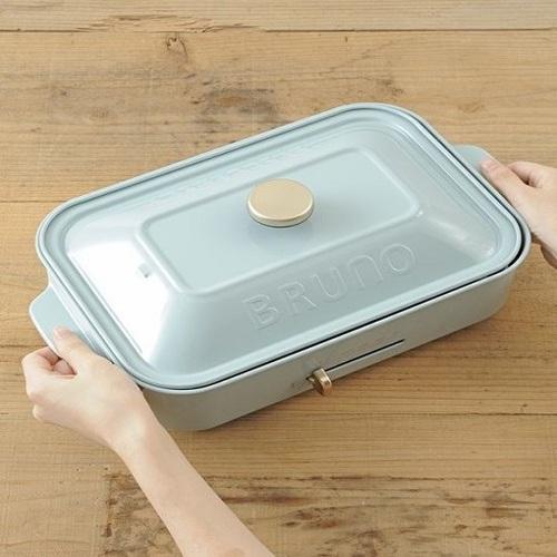 BRUNO|BOE021 多功能電烤盤(土耳其藍)