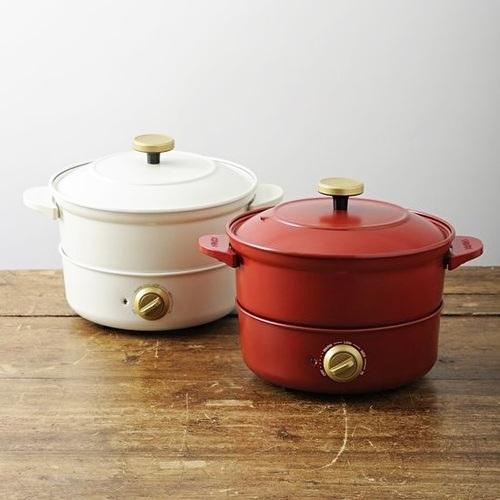BRUNO|BOE029 萬能調理鍋+ 原木磁吸式組合桌墊
