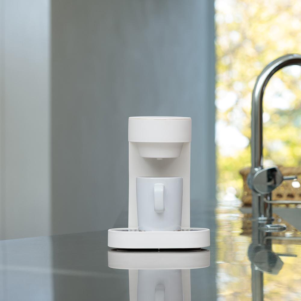 正負零±0 單杯咖啡機 XKC-E120(白)