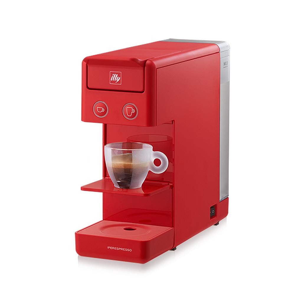 illy|Y3.2 膠囊咖啡機(紅)