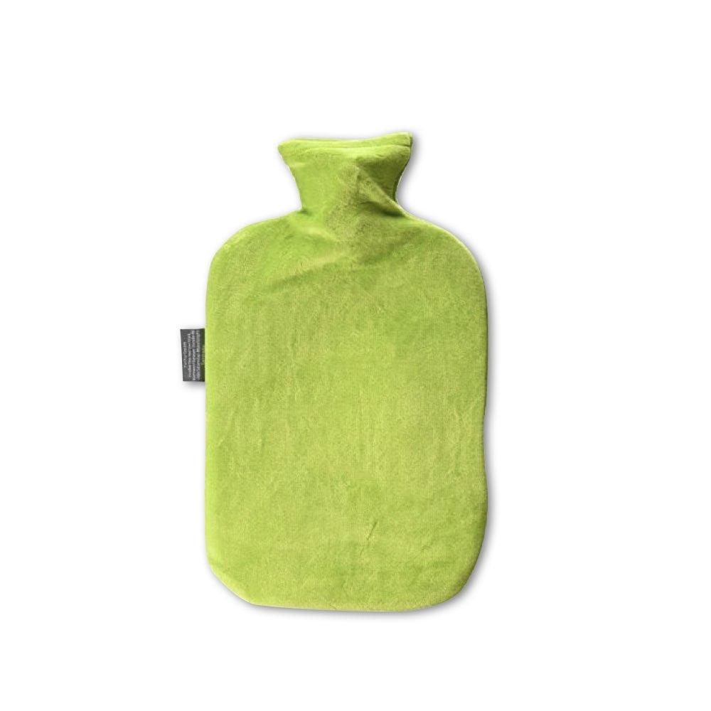 德國Fashy|原裝進口 經典高領絨布熱水袋2.0L