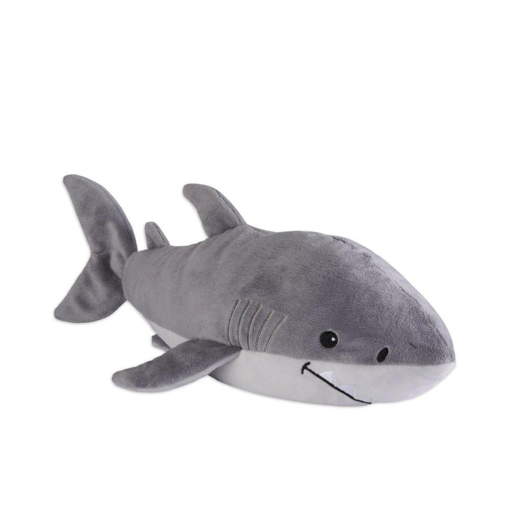 英國Warmies|原裝進口 寶貝鯊魚植物系溫感娃娃