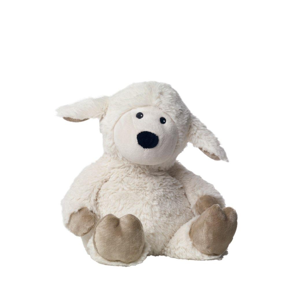 英國Warmies 原裝進口 小白羊植物系溫感娃娃