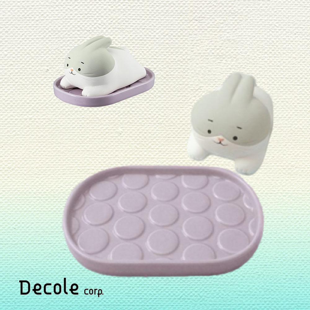 DECOLE|日本免插電超萌除濕小幫手 (白兔懶洋洋)