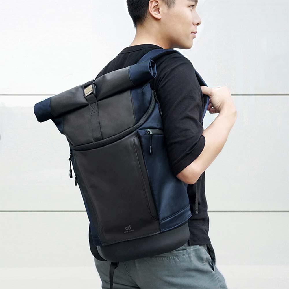 SUPER DOUBLE|快卡背包-運動款(深藍色)