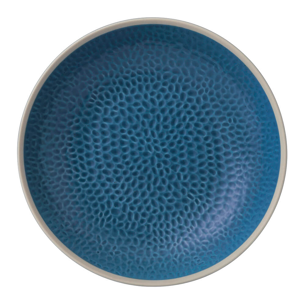 Royal Doulton 皇家道爾頓 Maze Grill Gordan Ramsay主廚聯名系列 24cm深盤 (知性藍)