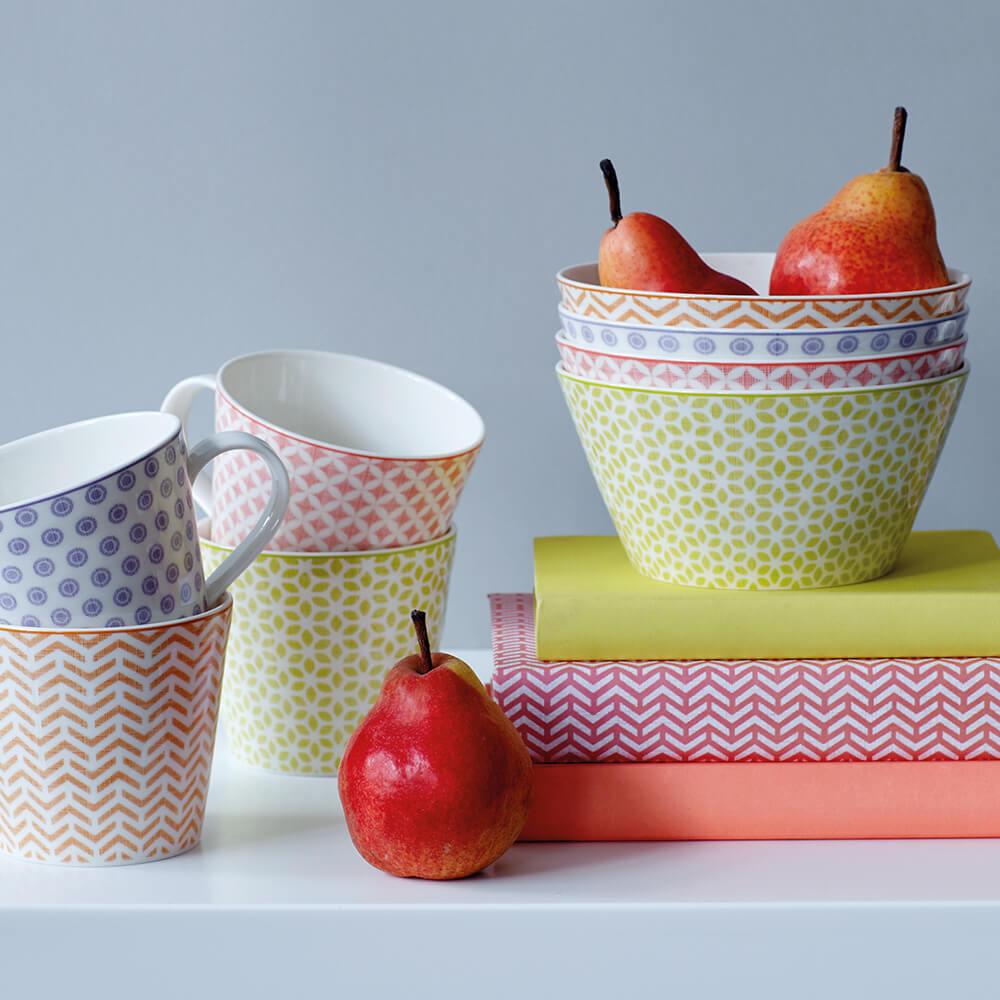 Royal Doulton 皇家道爾頓 | Pastels 北歐復刻系列15cm餐碗 (粉彩藍調)