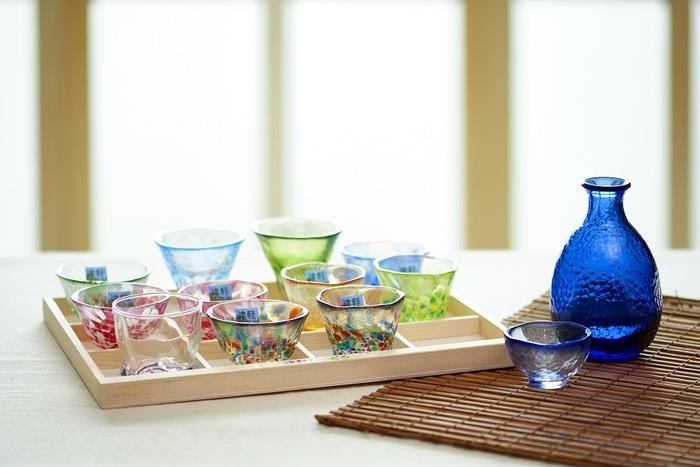(複製)ADERIA|津輕系列手作藍雲彩清酒杯/1入