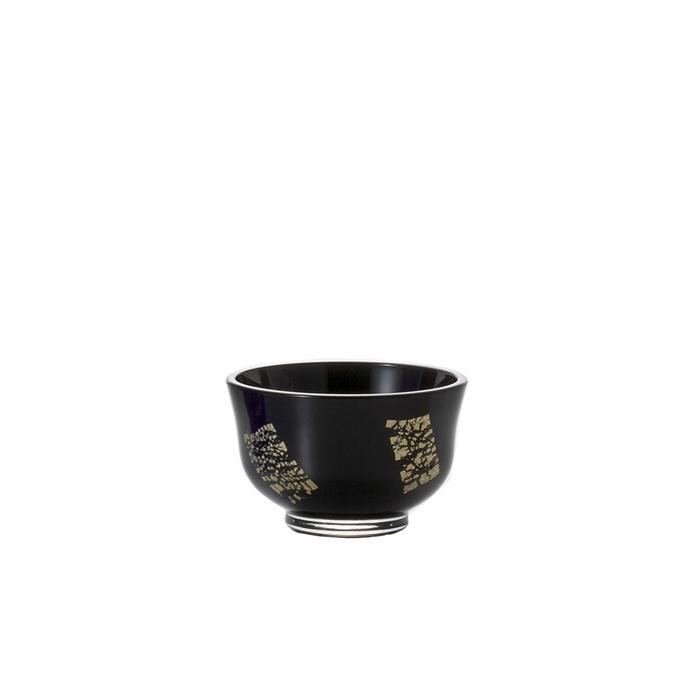 (複製)ADERIA|津輕系列手作德利金箔黑色清酒壺/1入