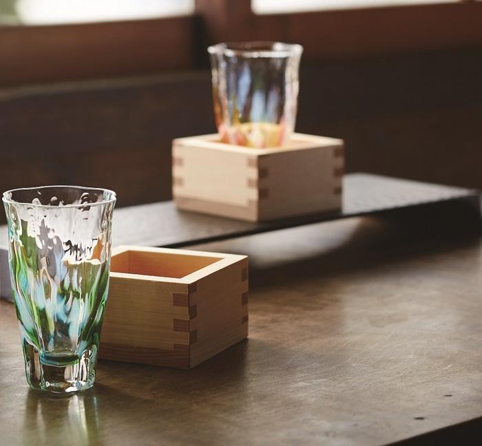 (複製)ADERIA|津輕系列手作德利金箔透明清酒杯/1入