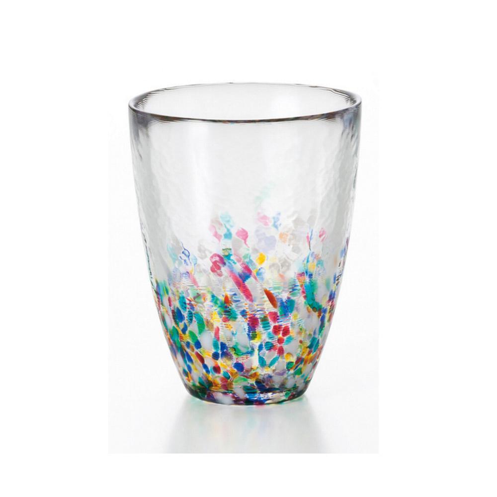 ADERIA|津輕系列繽紛睡魔玻璃水杯300cc