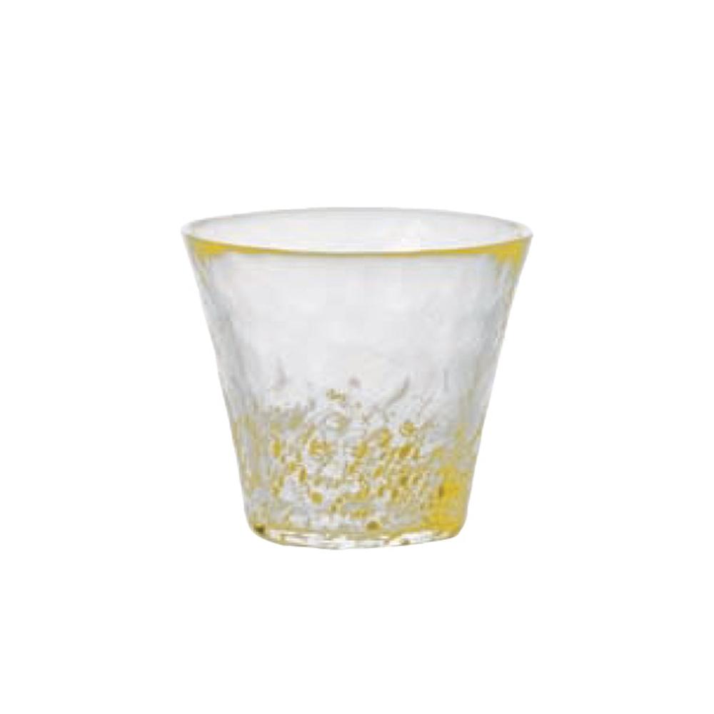 ADERIA|津輕系列手作黃點燒酌水杯/1入