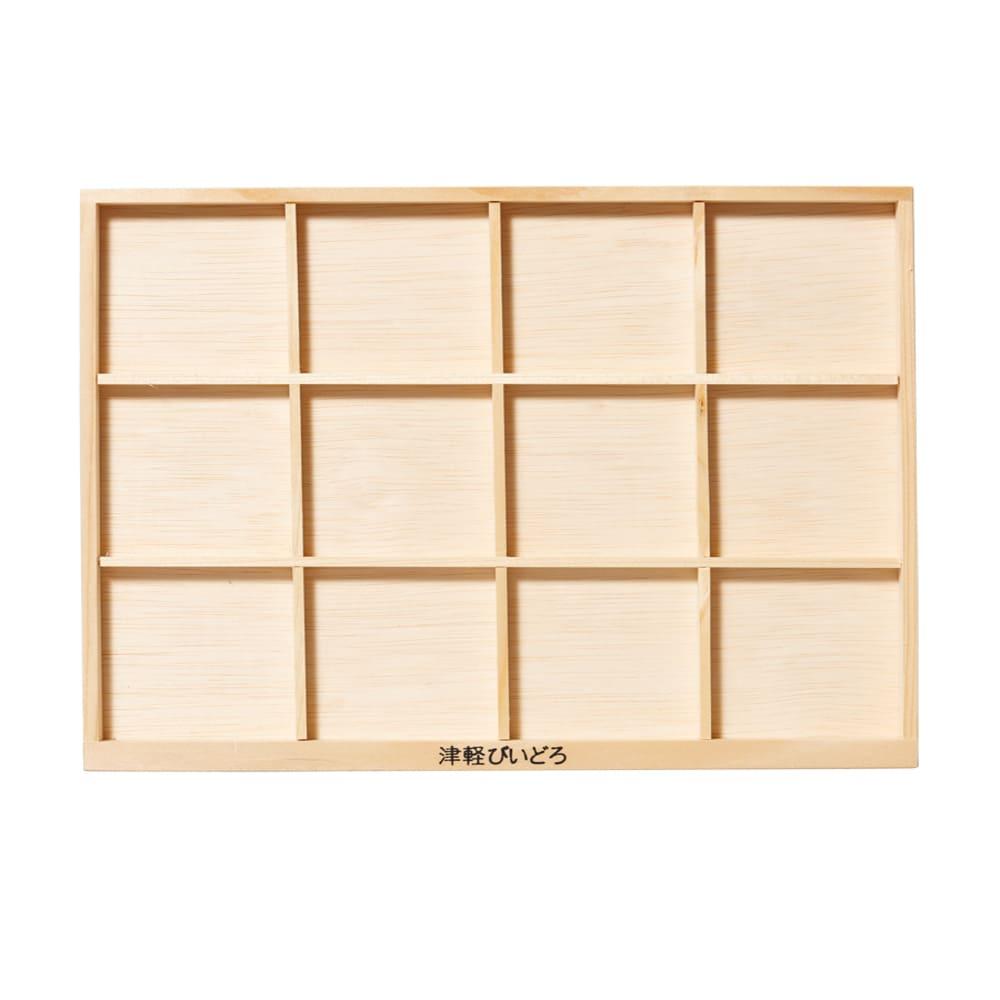 ADERIA|津輕系列清酒杯展示木盤/1入