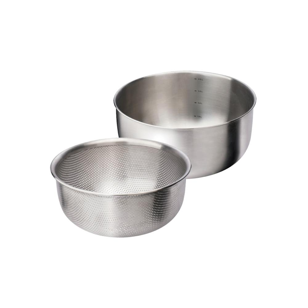 美國VitaCraft唯他鍋|NuCook 洗滌、調理組2入18cm