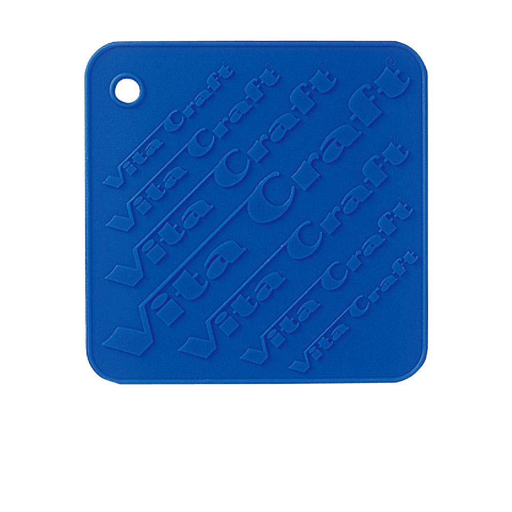 美國VitaCraft唯他鍋 矽膠隔熱墊、防滑墊 藍