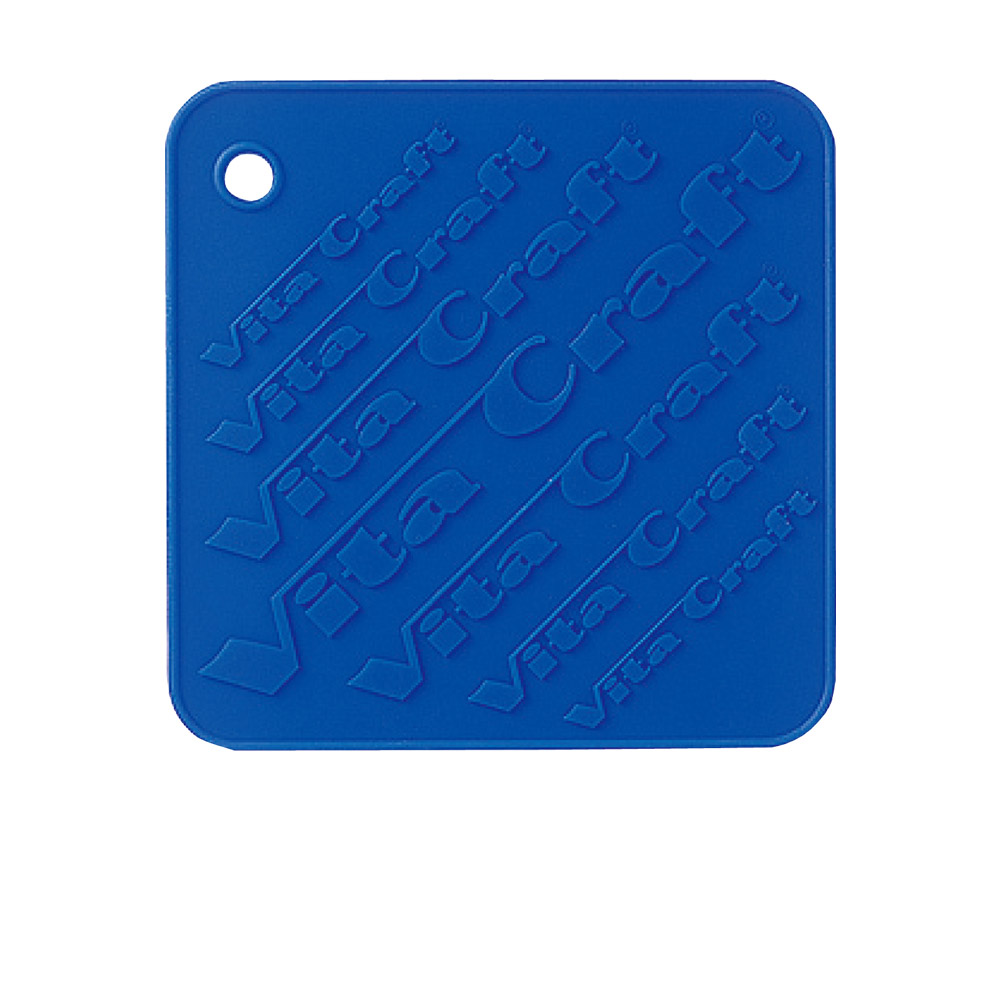美國VitaCraft唯他鍋|矽膠隔熱墊、防滑墊 藍