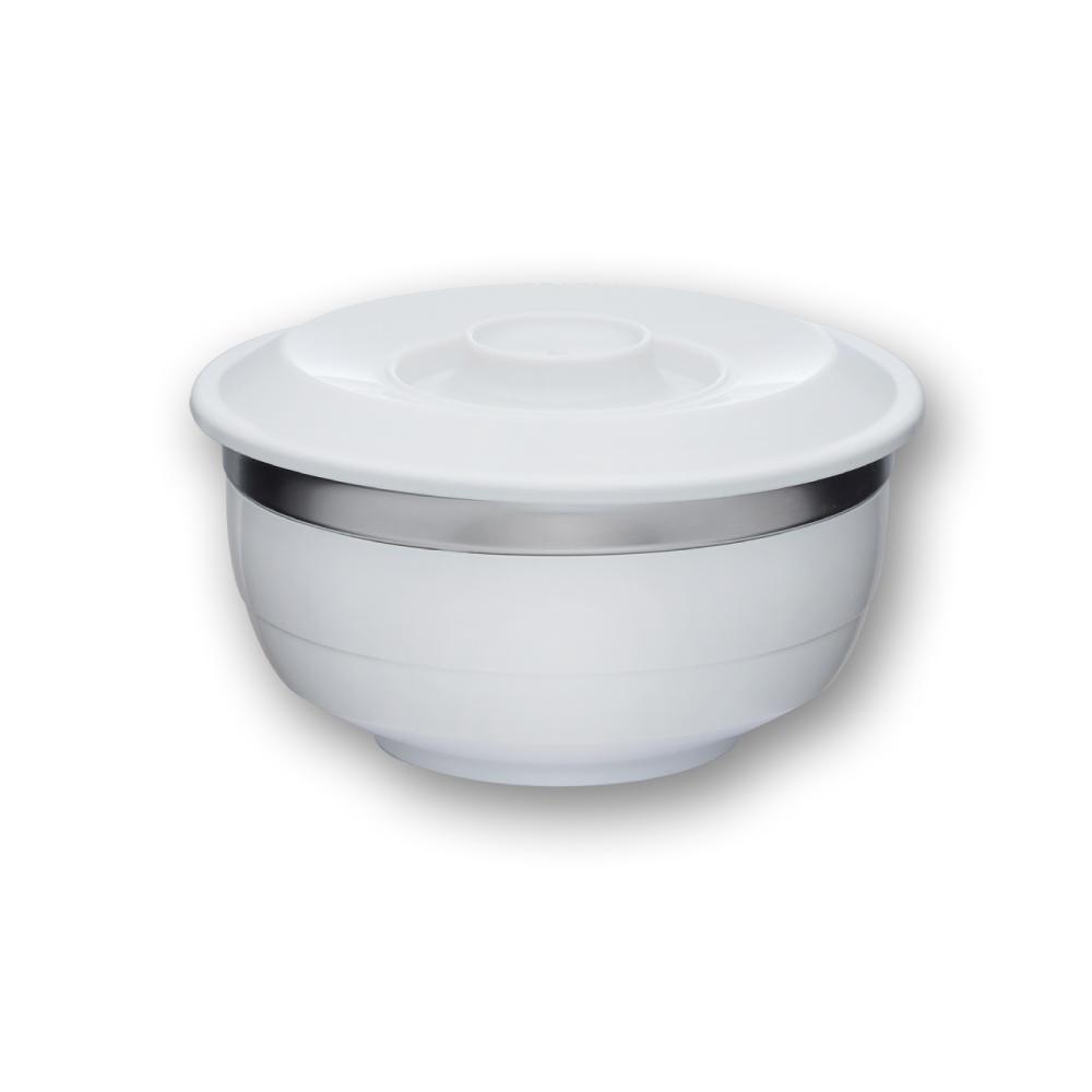 美國VitaCraft唯他鍋|台箸【KUAI ZHU】台箸創意環保兩用碗1100cc 淨白(L)