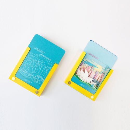 AiT Studio|立體紙雕記事本 雪梨歌劇院(糖果色)