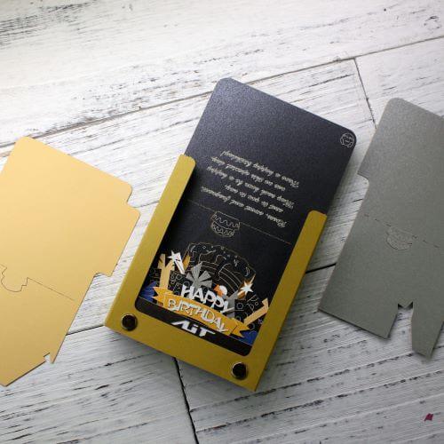 AiT Studio|立體紙雕記事本 生日快樂(紅色)