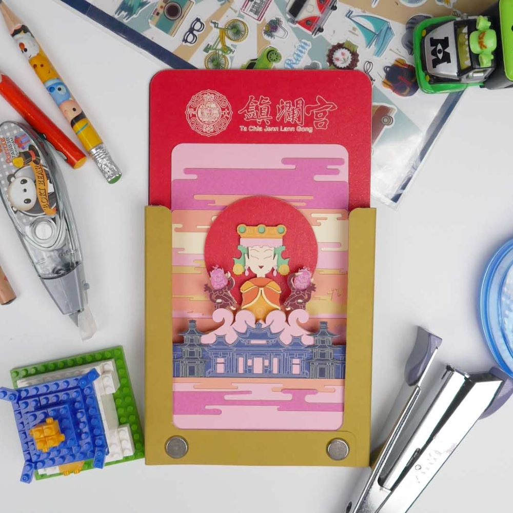 AiT Studio|立體紙雕記事本 鎮瀾宮