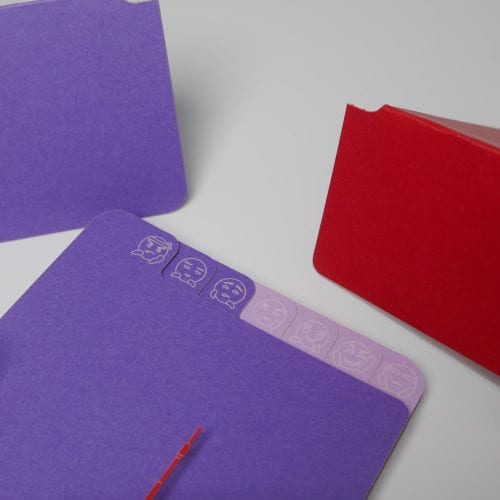 AiT Studio|立體紙雕記事本 東京鐵塔