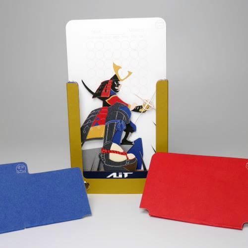 AiT Studio|立體紙雕記事本 日本武士