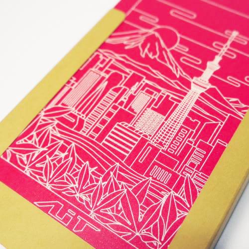 AiT Studio|立體紙雕記事本 晴空塔