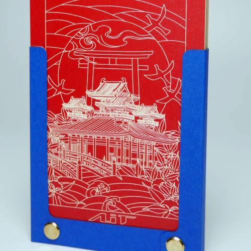 AiT Studio|立體紙雕記事本 神宮與鳥居