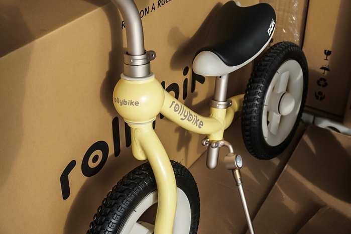 (複製)rollybike|easy go 專利踏板 質感黑